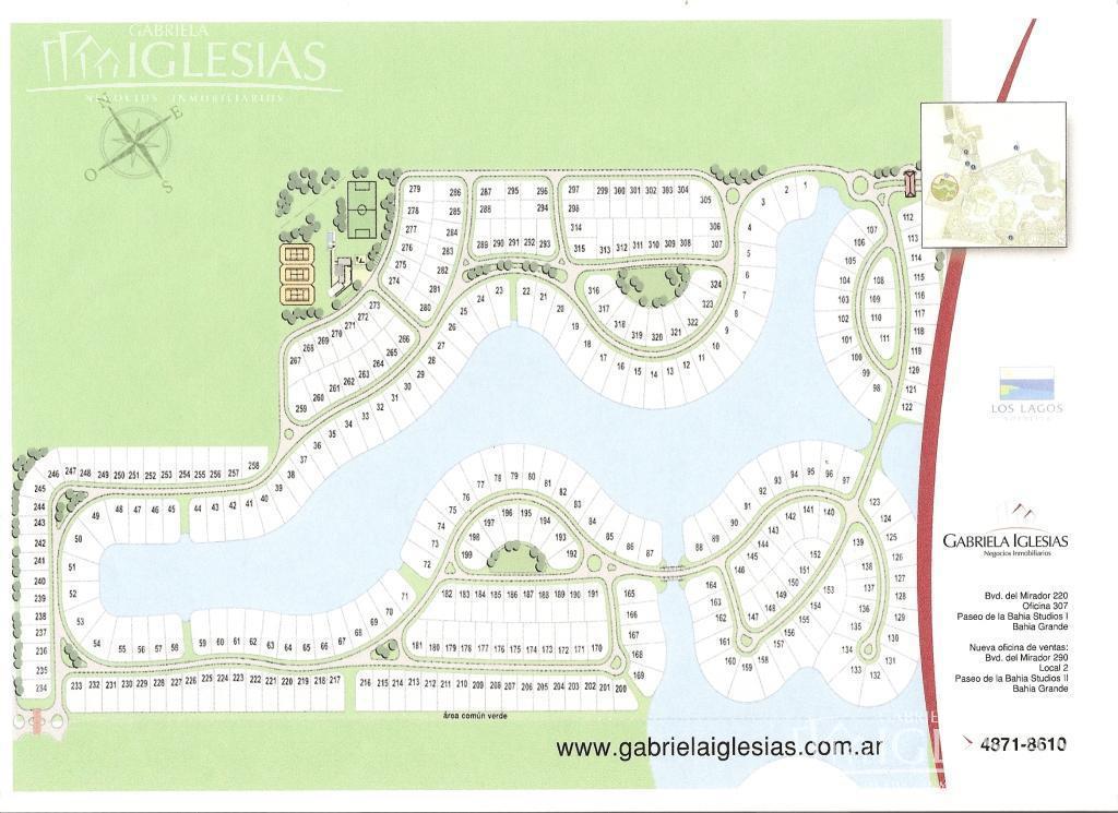 Terreno en Venta en Nordelta Los Lagos a Venta - u$s 158.000
