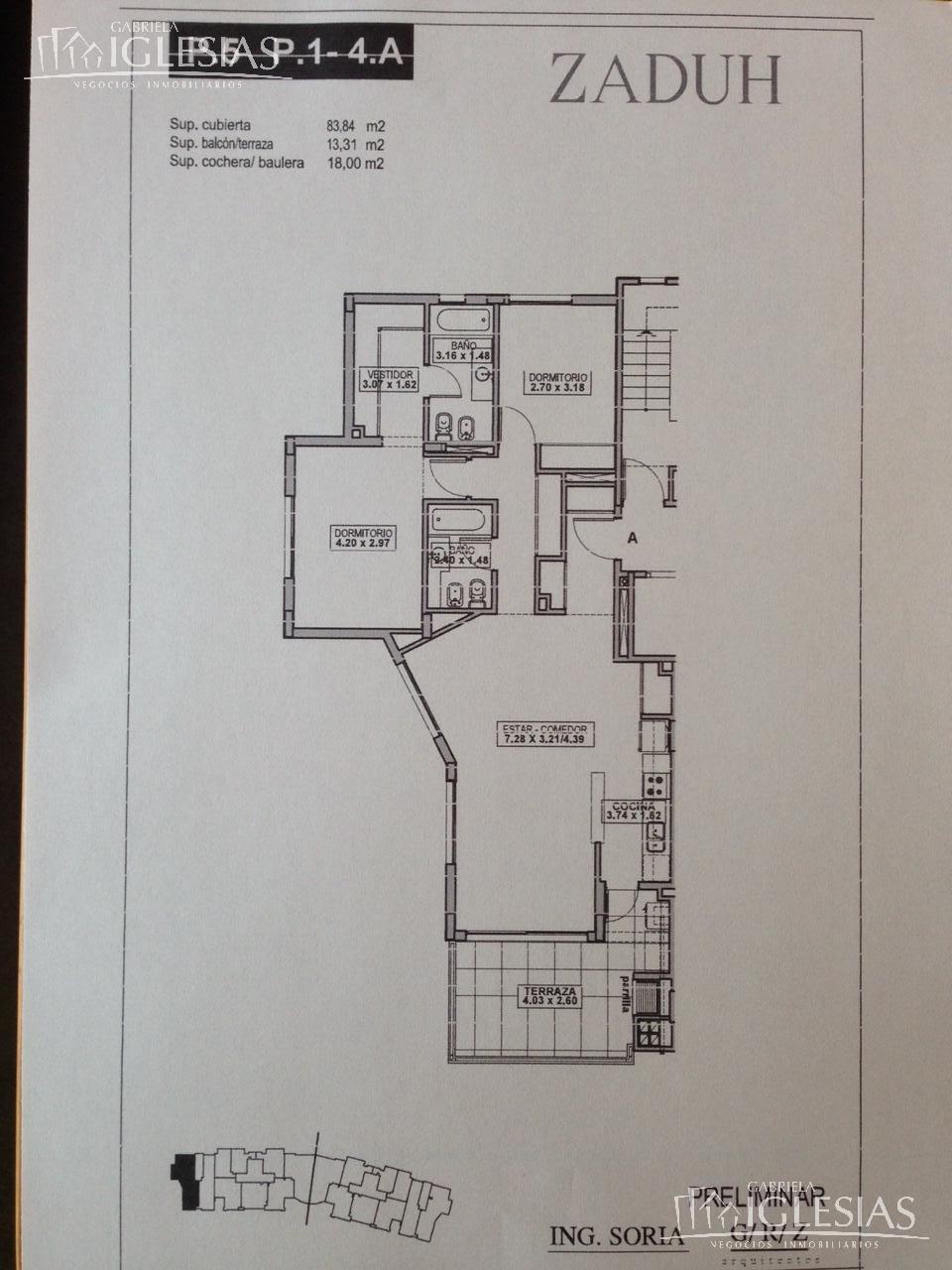Departamento en Alquiler temporario Alquiler en Zaduh a Alquiler temporario - $ 27.500 Alquiler - $ 18.500