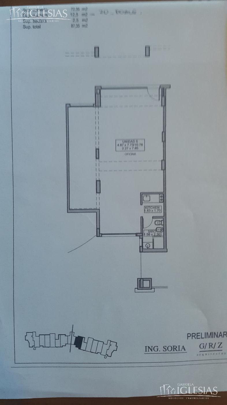 Oficina en Alquiler en Zaduh a Alquiler - $ 11.000